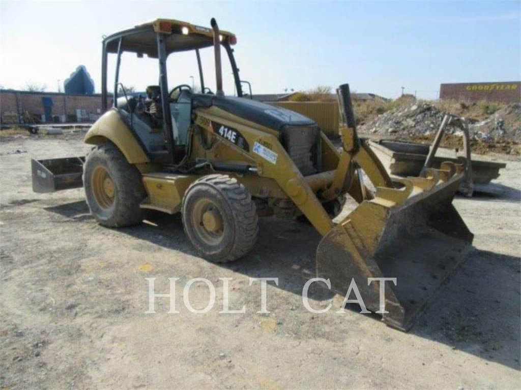 Caterpillar 414E, Wheel Loaders, Construction