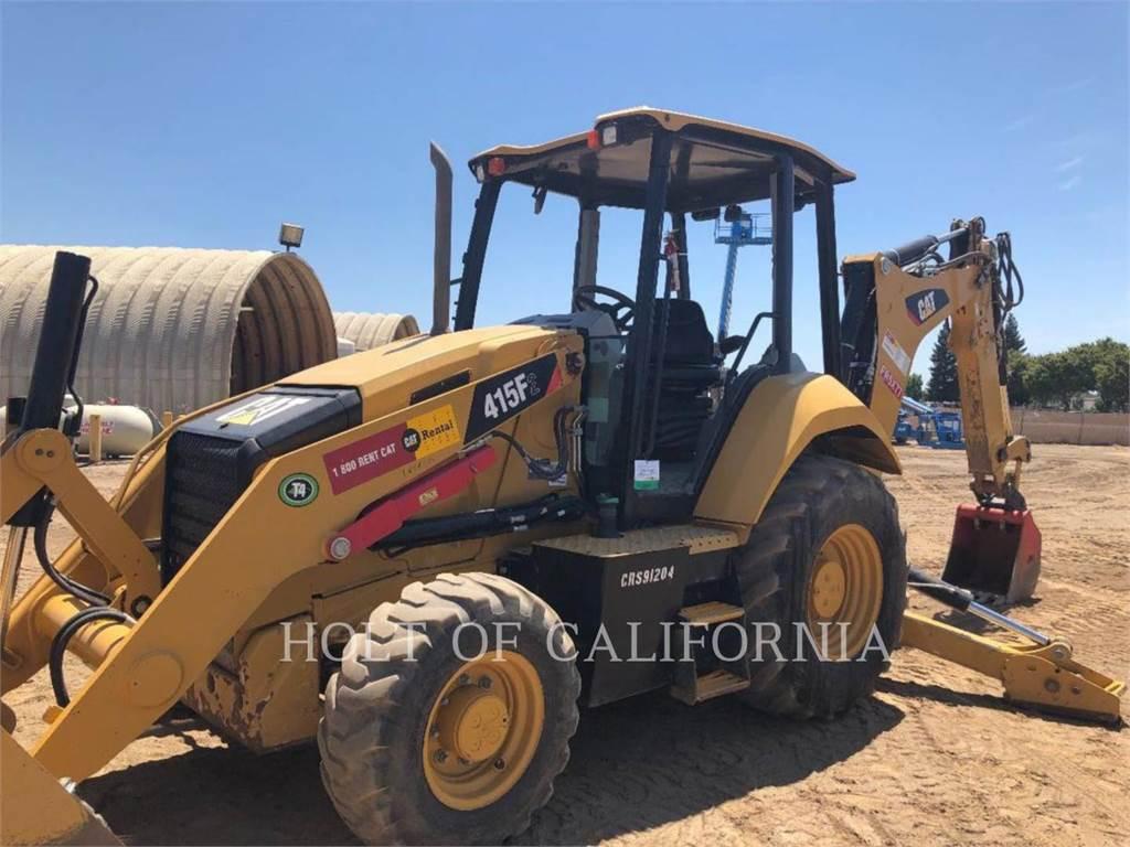 Caterpillar 415F2, chargeuses-pelleteuses, Équipement De Construction