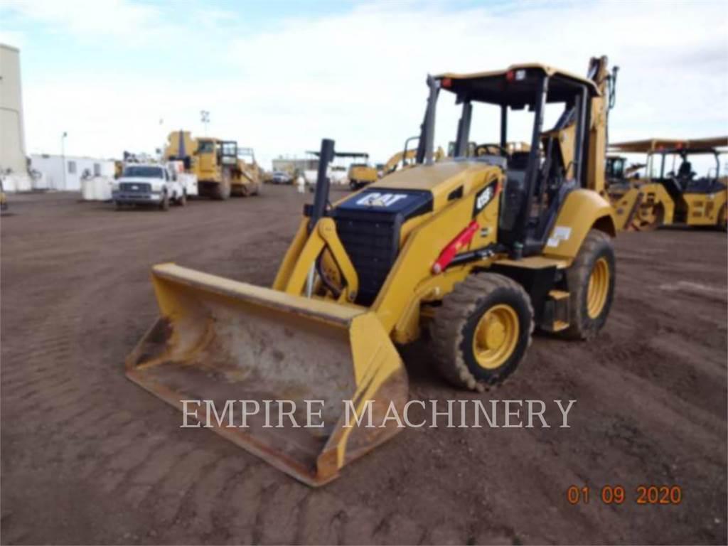 Caterpillar 415F2, backhoe loader, Construction