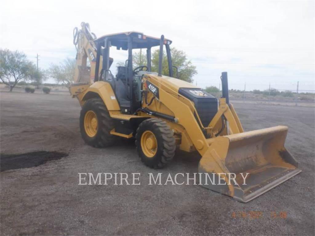 Caterpillar 415F2 4EO, backhoe loader, Construction
