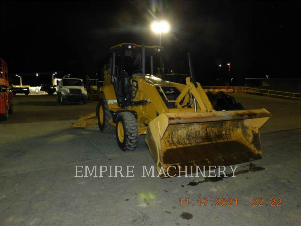 Caterpillar 415F2 4EOP, backhoe loader, Construction