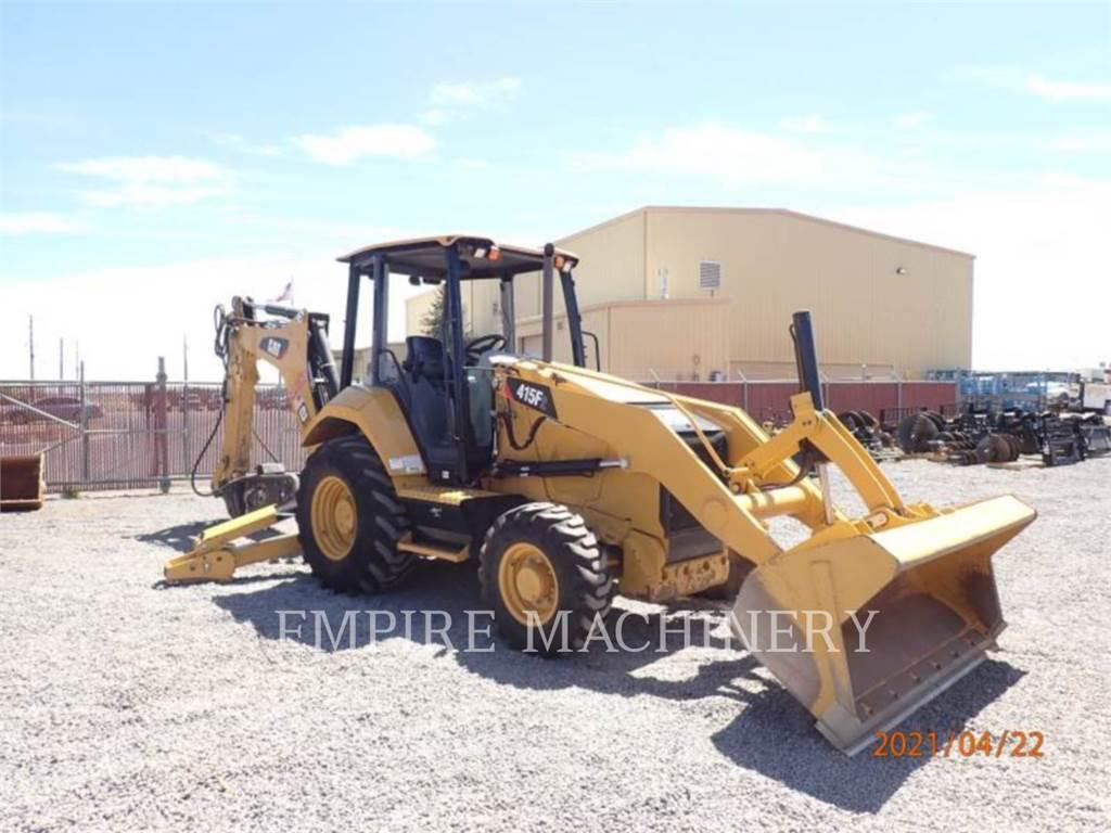 Caterpillar 415F2 4EOP, chargeuses-pelleteuses, Équipement De Construction