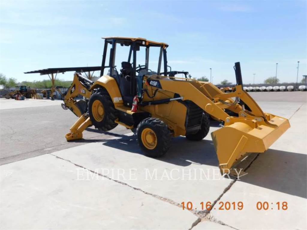 Caterpillar 415F2 HRC, chargeuses-pelleteuses, Équipement De Construction