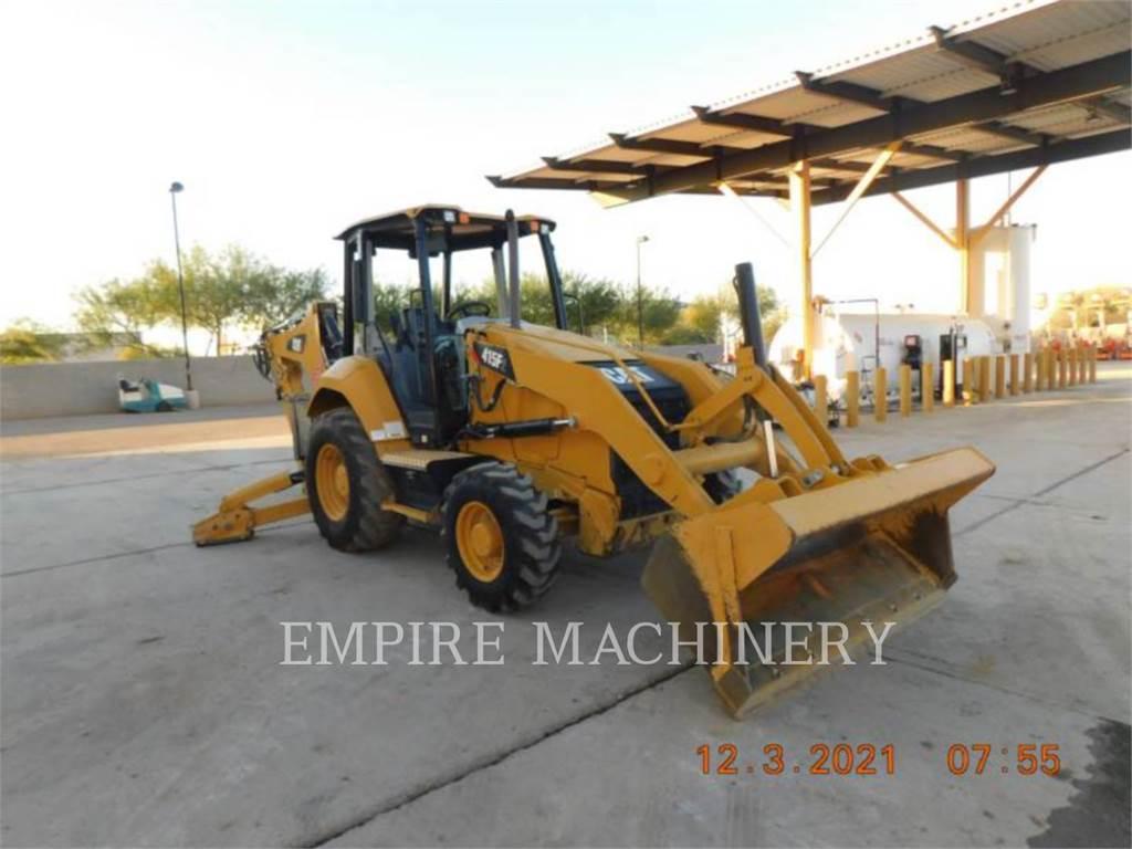 Caterpillar 415F2 HRC, buldoexcavatoare, Constructii