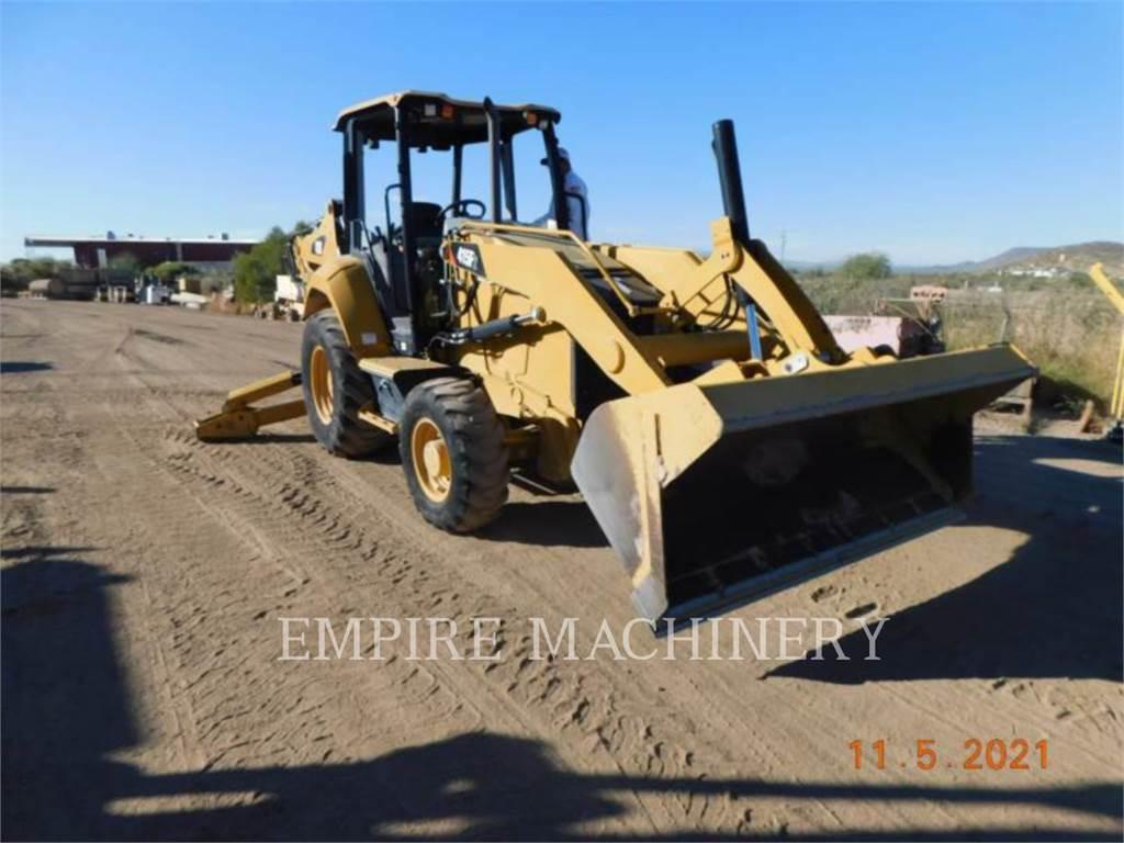 Caterpillar 415F2 HRC, backhoe loader, Construction