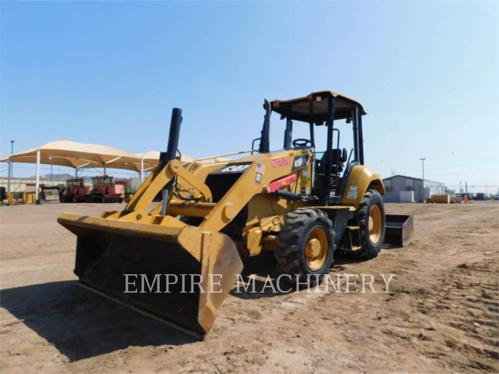 Caterpillar 415F2 IL, Incarcator pe pneuri, Constructii