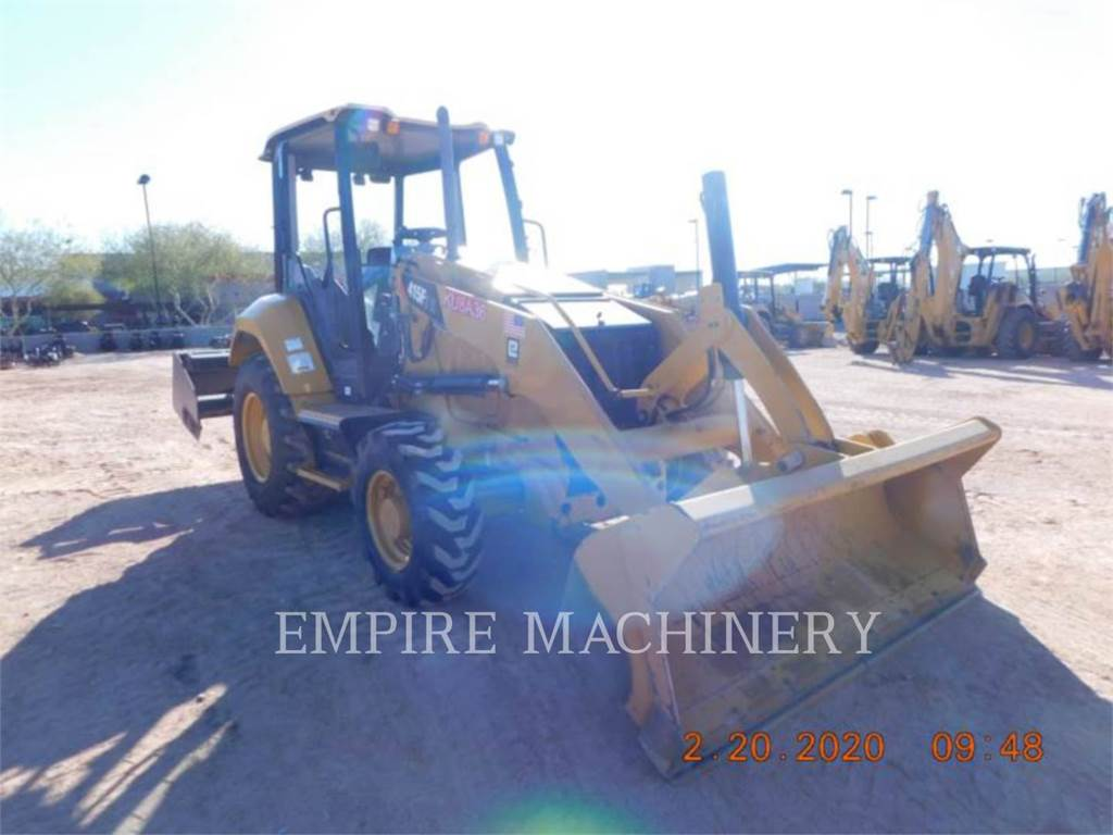 Caterpillar 415F2 IL, Wheel Loaders, Construction