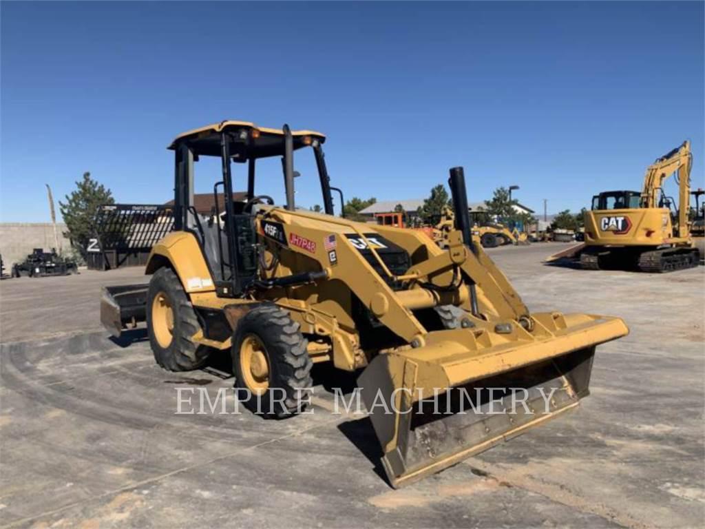 Caterpillar 415F2IL, Ładowarki kołowe, Sprzęt budowlany