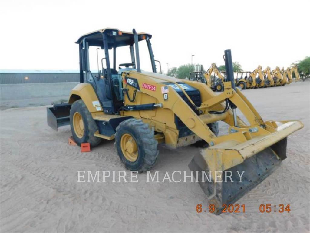 Caterpillar 415F2IL, Wielladers, Bouw