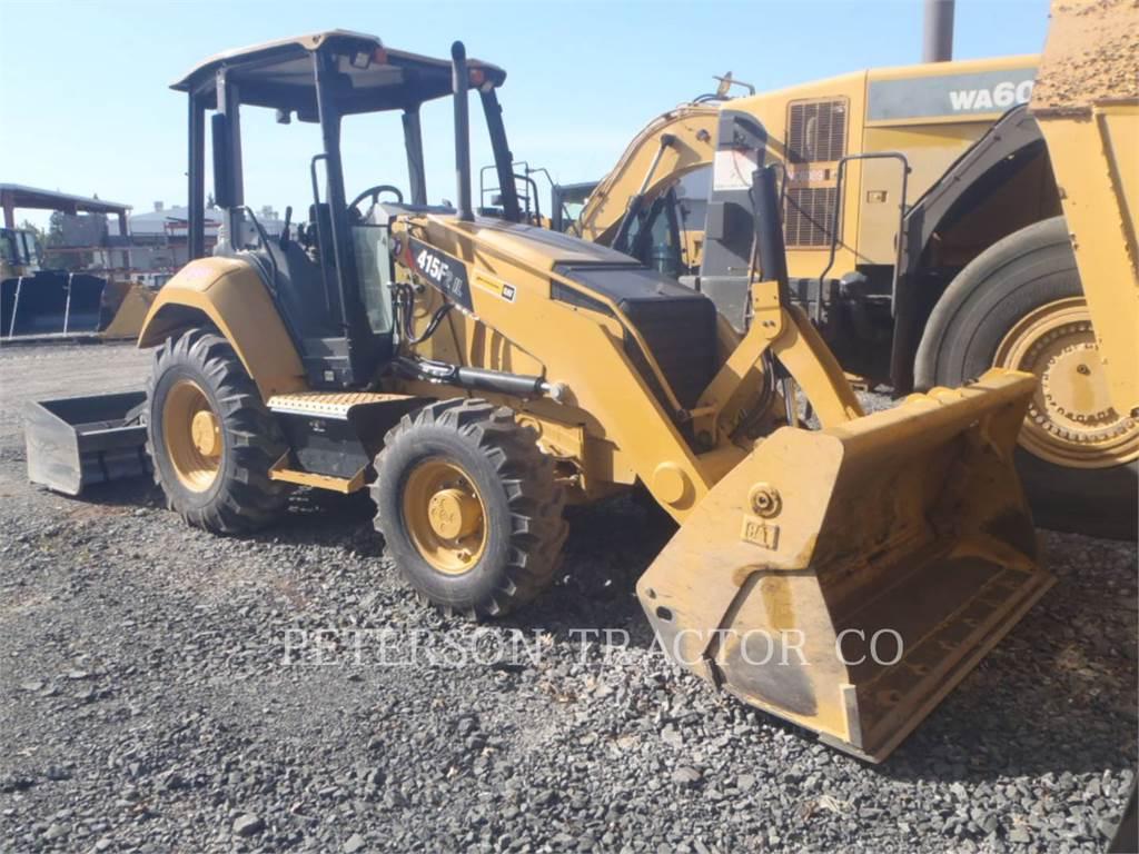 Caterpillar 415F2IL, Pás carregadoras de rodas, Equipamentos Construção
