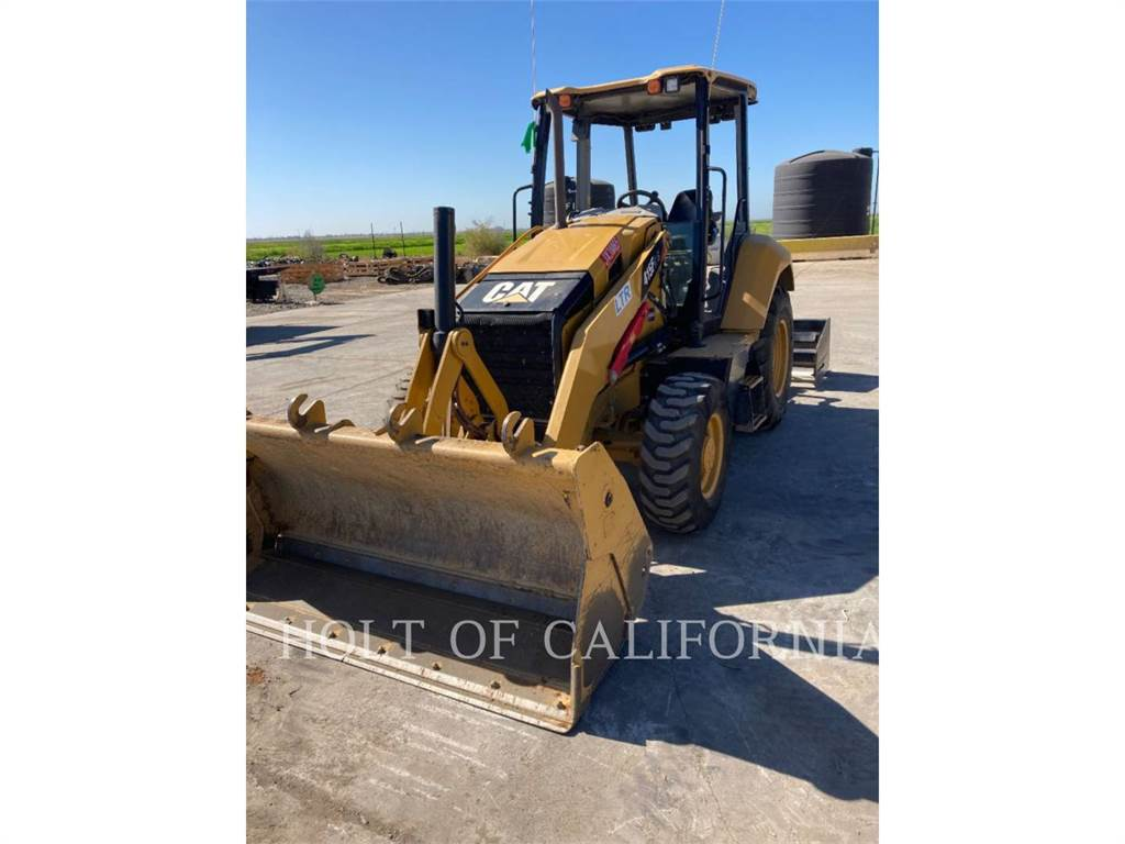 Caterpillar 415F2IL, Фронтальные погрузчики, Строительное
