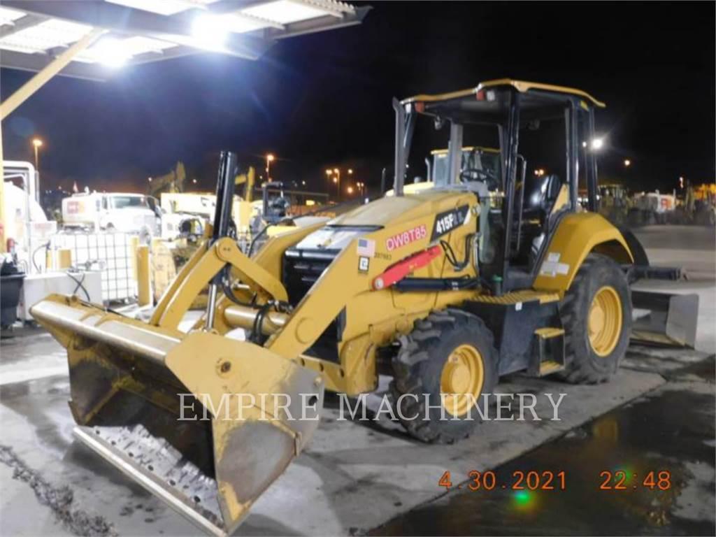 Caterpillar 415F2IL, Chargeuse sur pneus, Équipement De Construction