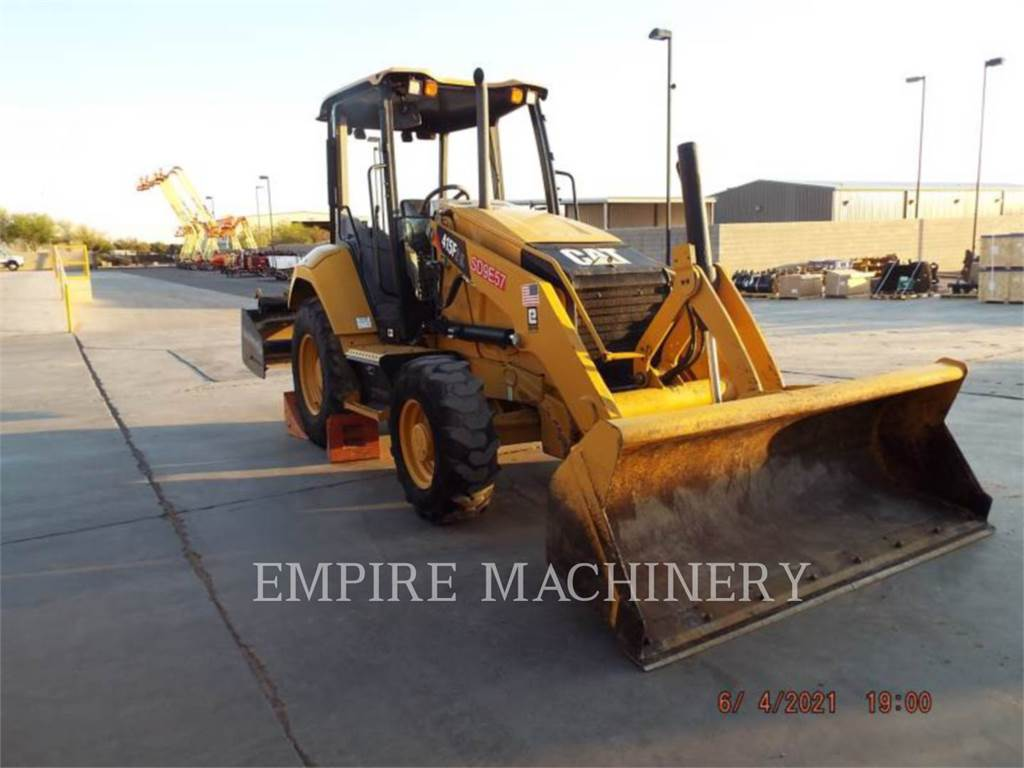 Caterpillar 415F2IL, Wheel Loaders, Construction