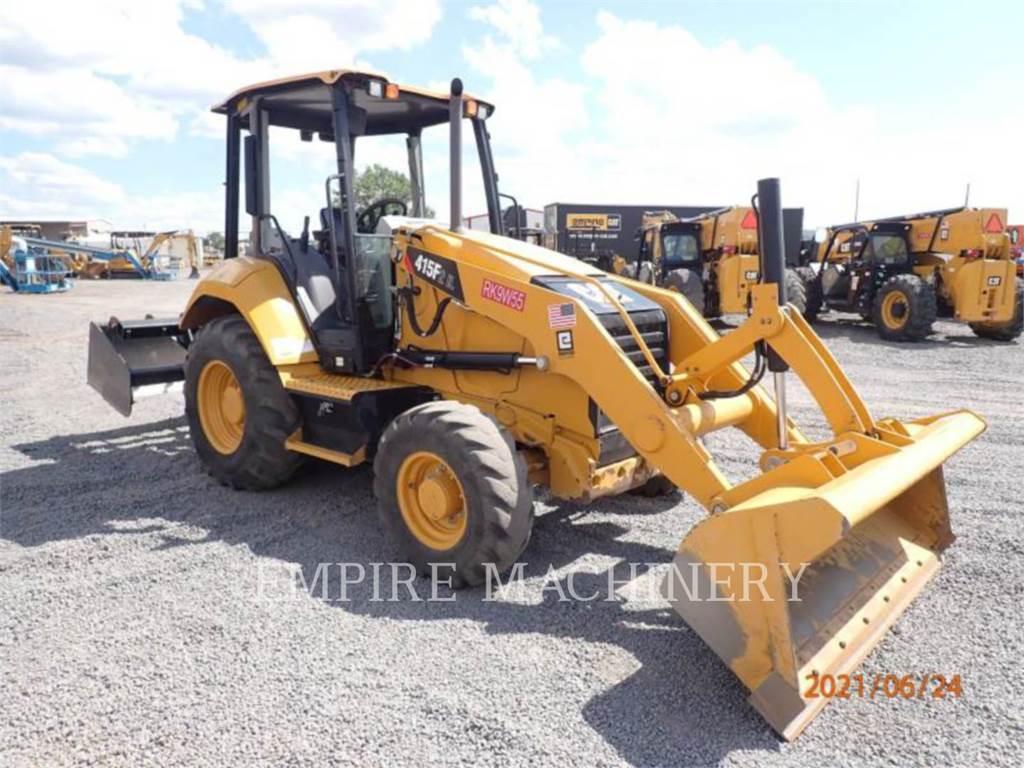 Caterpillar 415F2IL, Incarcator pe pneuri, Constructii