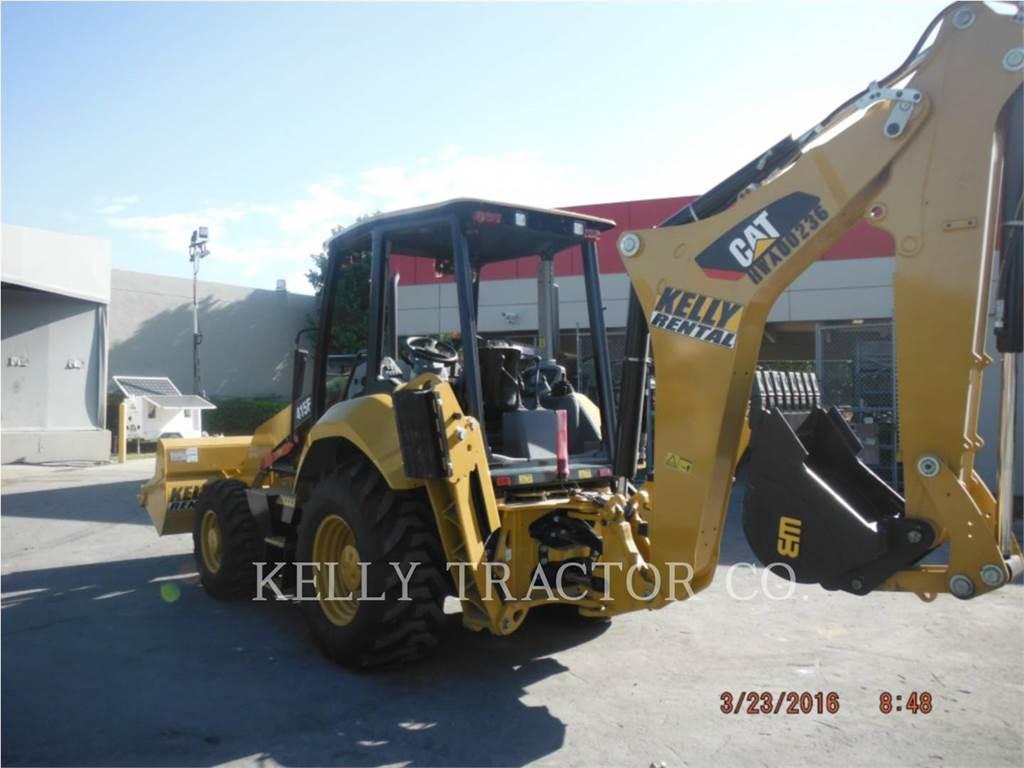 Caterpillar 415F2ST, retroexcavadoras cargadoras, Construcción