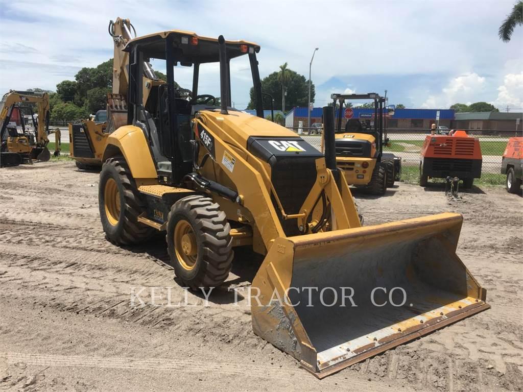 Caterpillar 415F2ST, chargeuses-pelleteuses, Équipement De Construction
