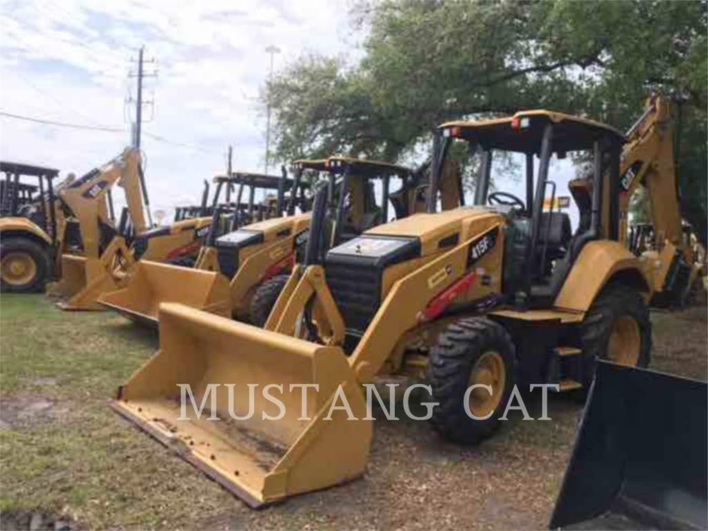 Caterpillar 415F2ST, buldoexcavatoare, Constructii
