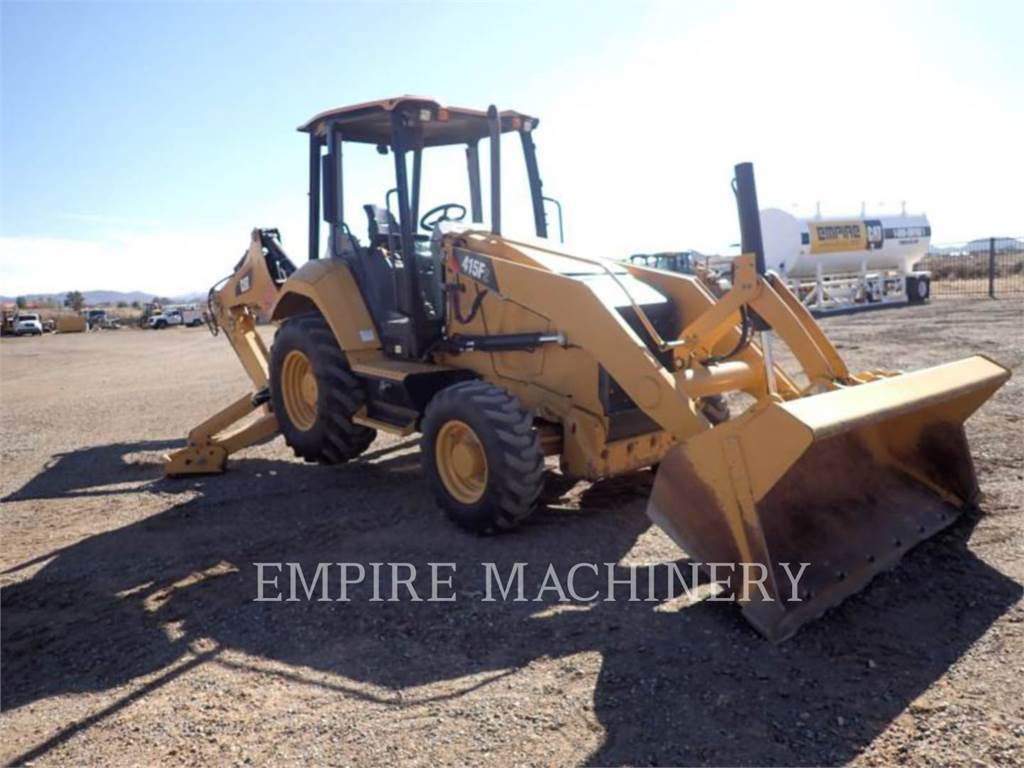 Caterpillar 415F2ST, backhoe loader, Construction