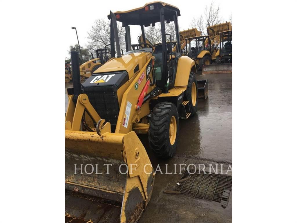 Caterpillar 415IL, Ładowarki kołowe, Sprzęt budowlany
