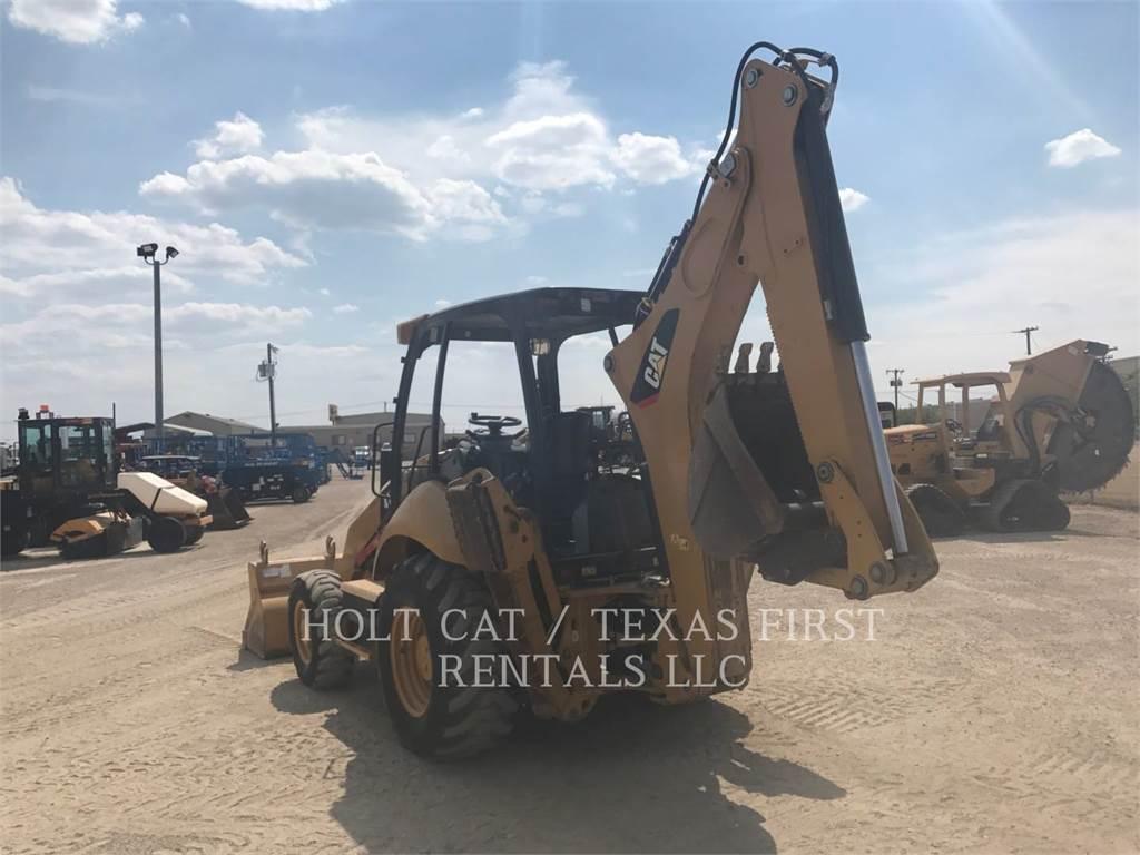 Caterpillar 416 F, backhoe loader, Construction