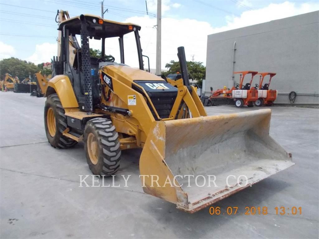 Caterpillar 416 F 2, chargeuses-pelleteuses, Équipement De Construction