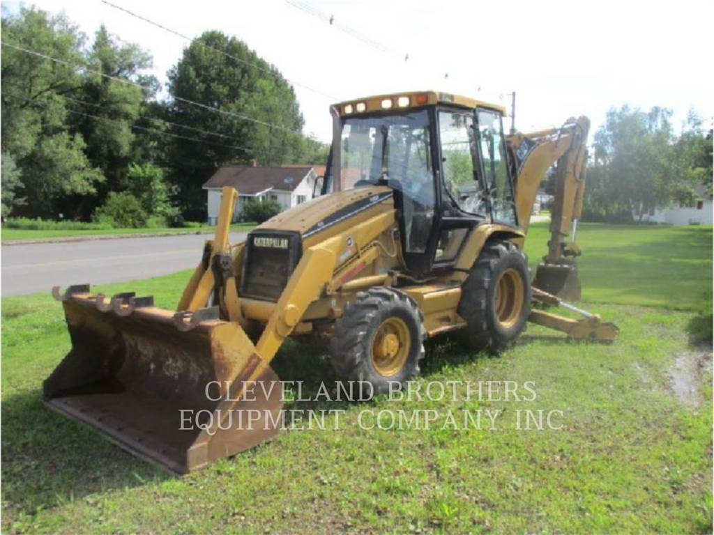 Caterpillar 416C, backhoe loader, Construction