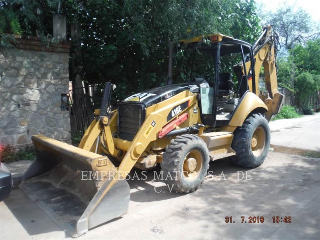 Caterpillar 416EST, chargeuses-pelleteuses, Équipement De Construction