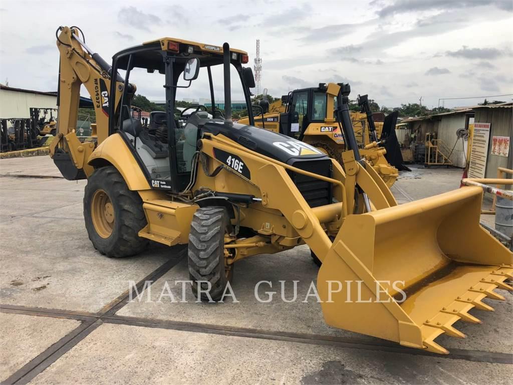 Caterpillar 416EST, baggerlader, Bau-Und Bergbauausrüstung