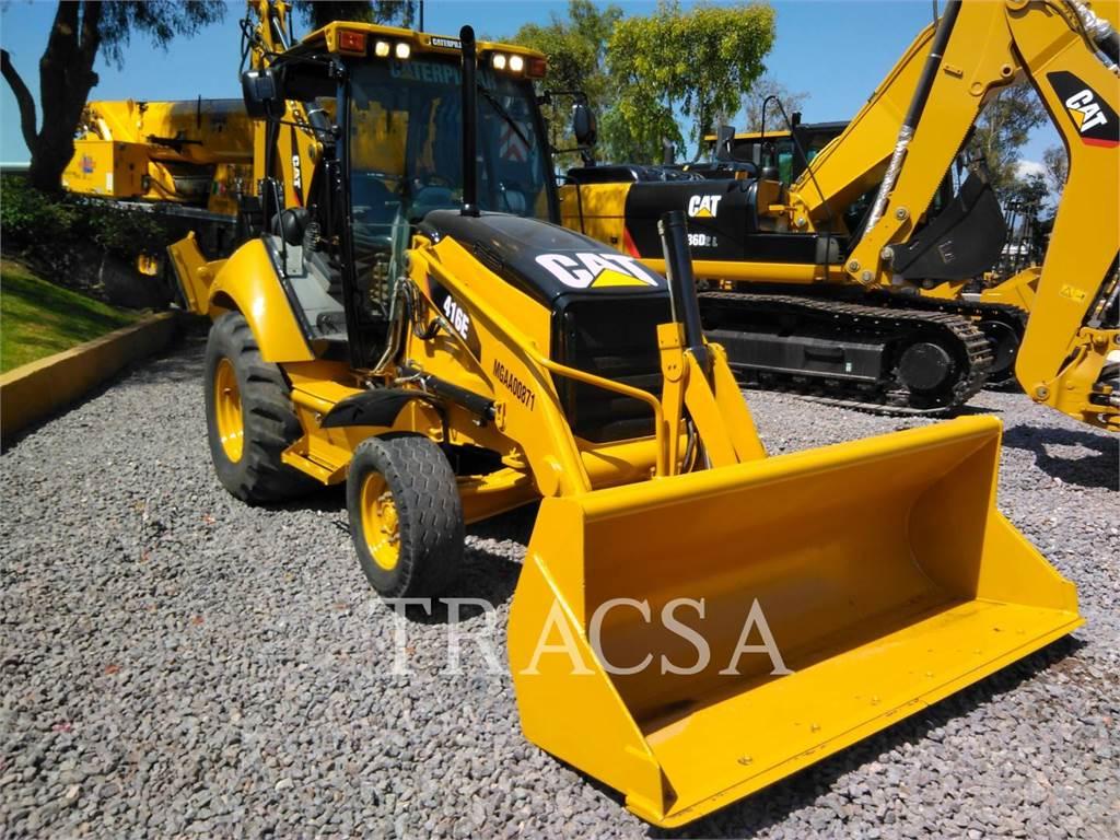 Caterpillar 416EST、反铲装载机、建筑设备