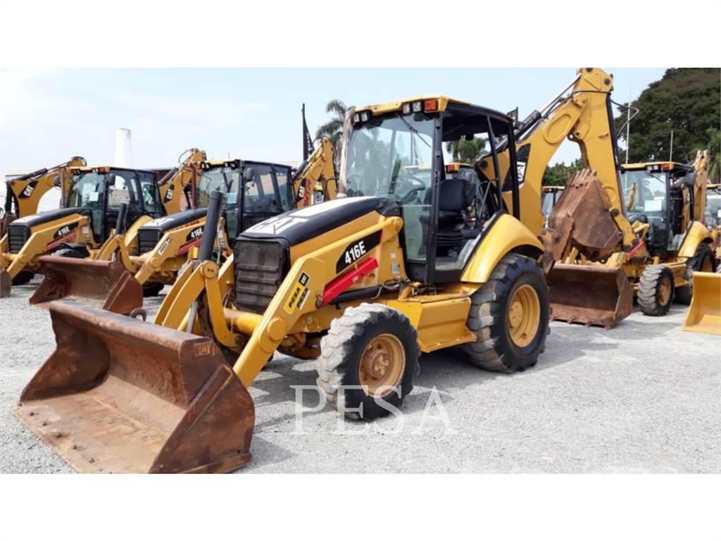 Caterpillar 416EST, retroescavadeiras, Equipamentos Construção