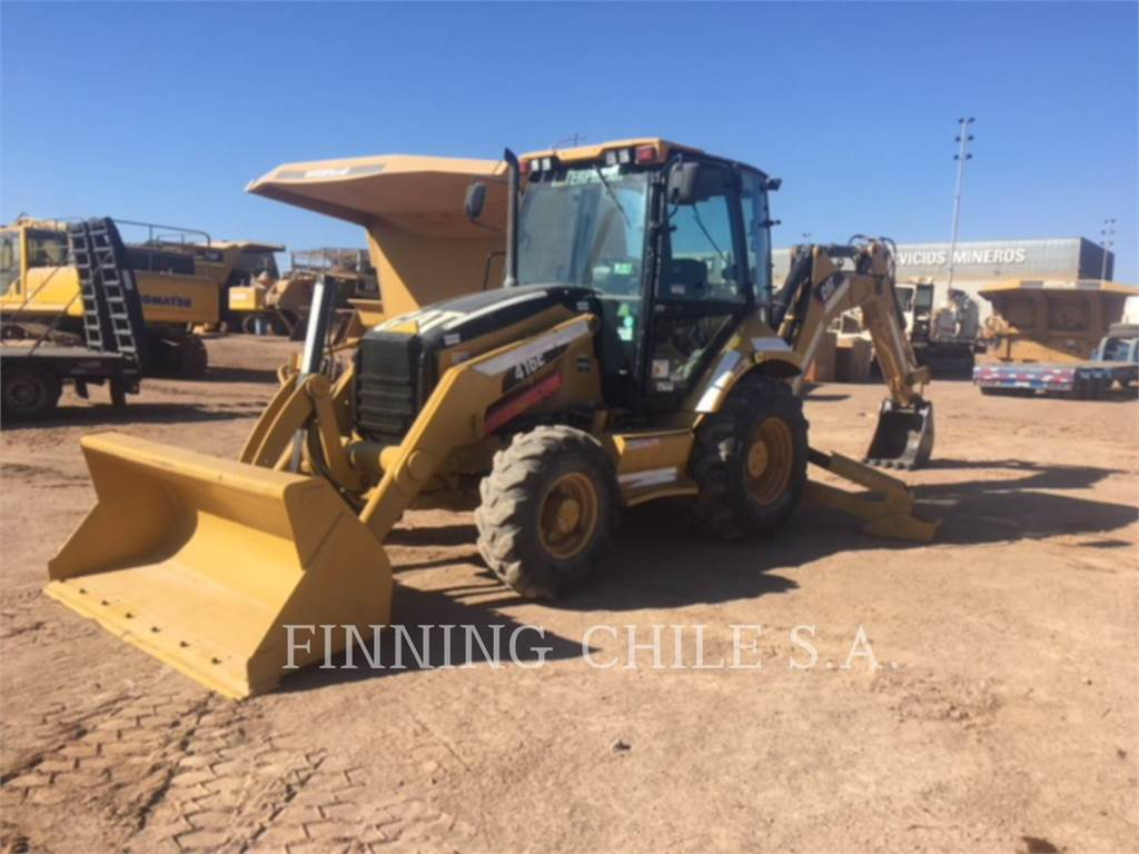 Caterpillar 416EST, backhoe loader, Construction