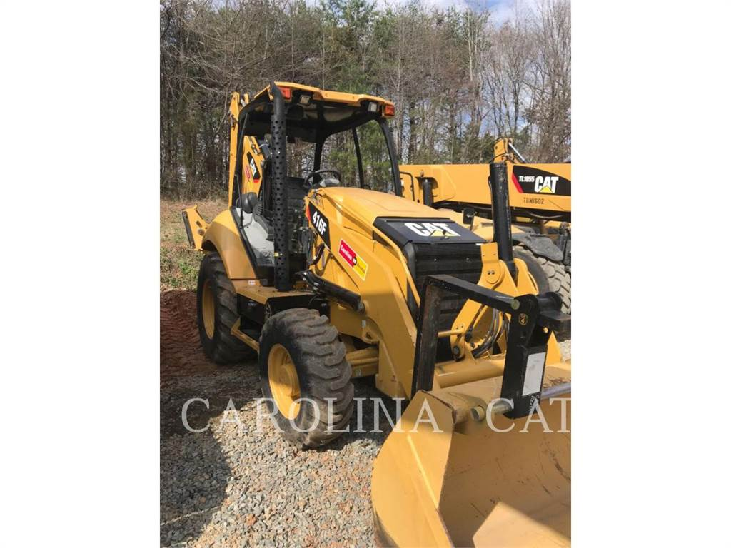 Caterpillar 416F, backhoe loader, Construction