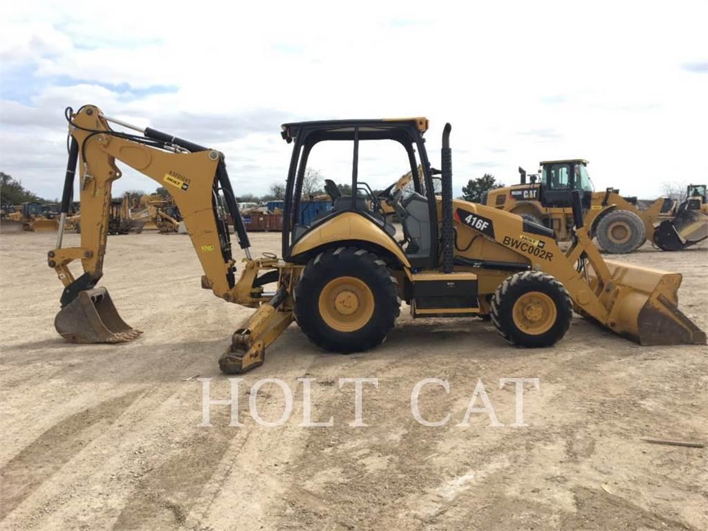 Caterpillar 416F 4SX, baggerlader, Bau-Und Bergbauausrüstung