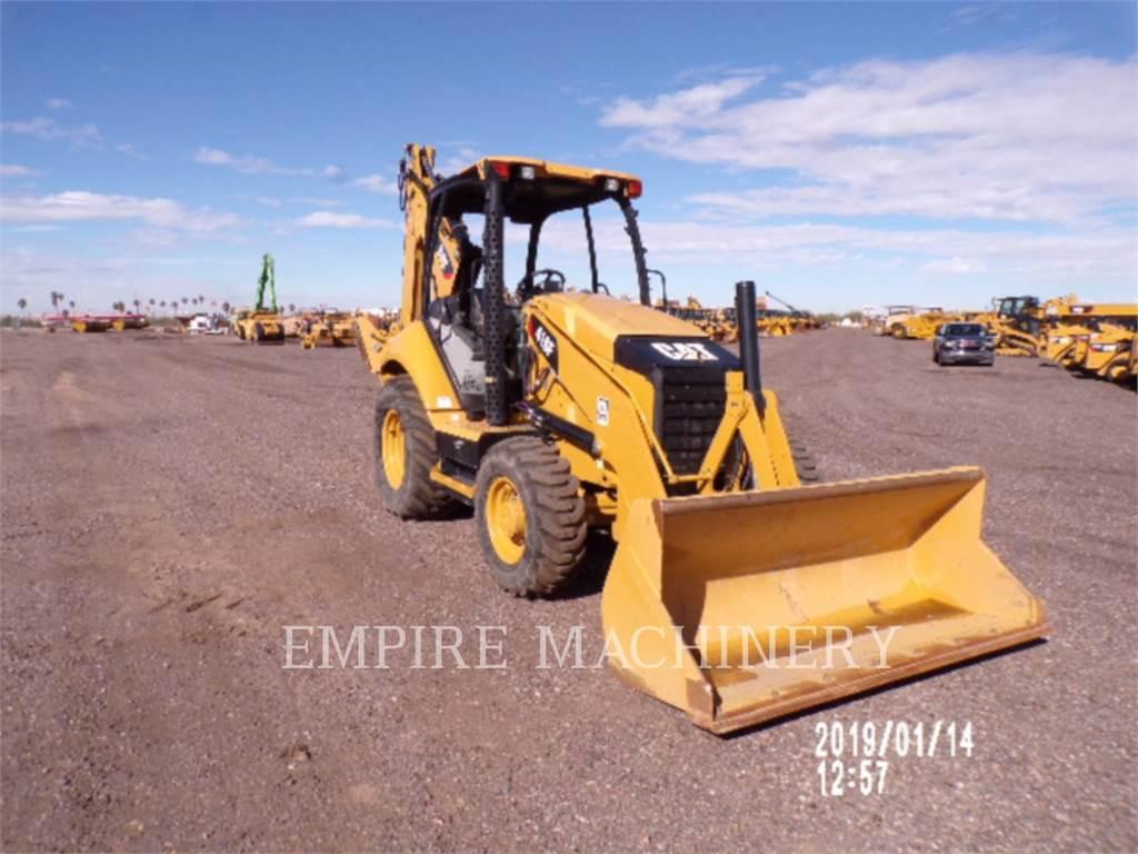 Caterpillar 416F, backhoe loader, Construction