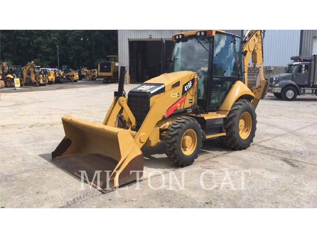 Caterpillar 416F ST, baggerlader, Bau-Und Bergbauausrüstung