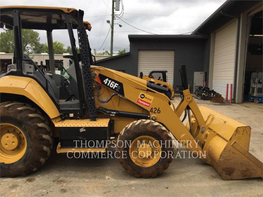 Caterpillar 416F2, retroescavadeiras, Equipamentos Construção