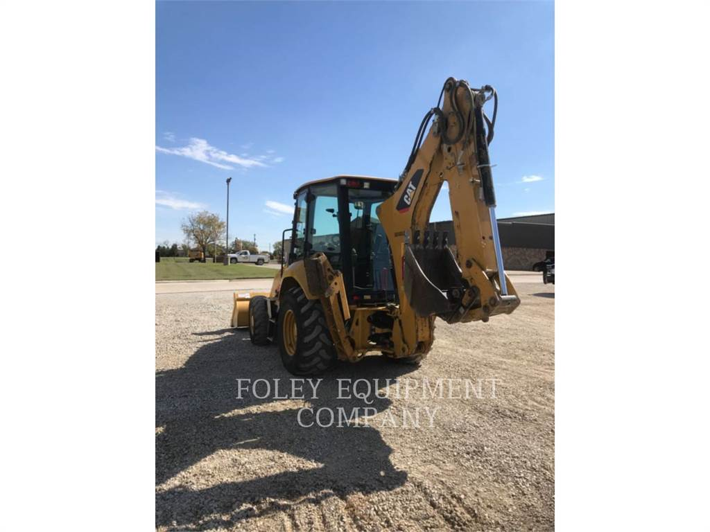 Caterpillar 416F2, backhoe loader, Construction