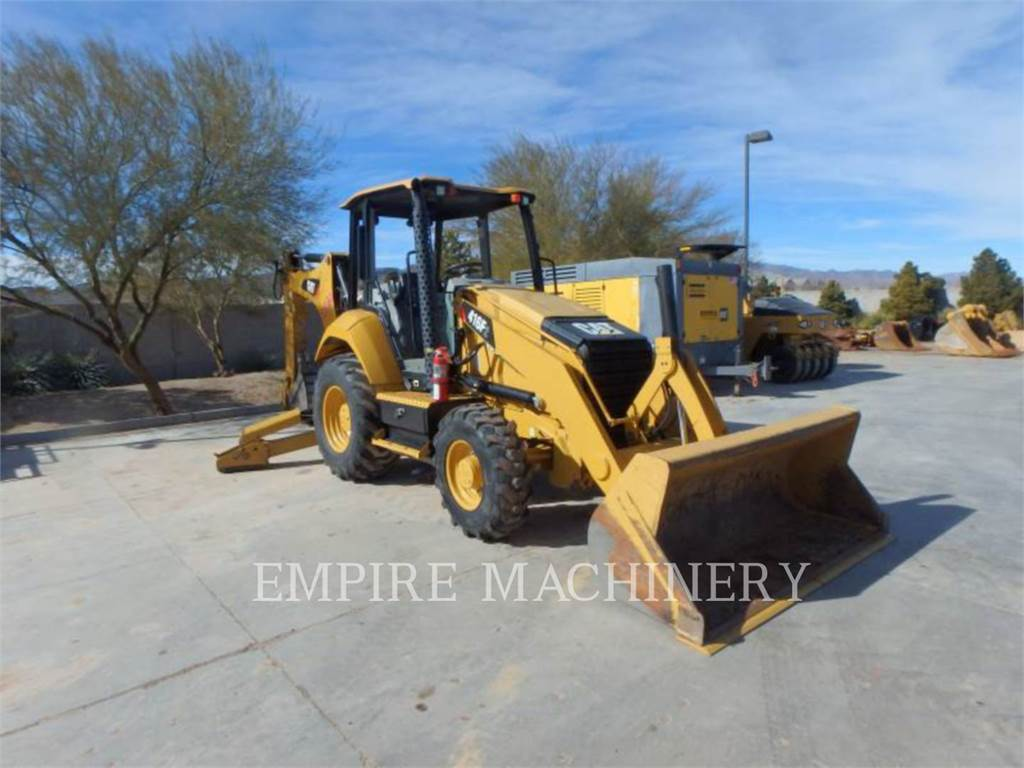 Caterpillar 416F2 4EO, backhoe loader, Construction