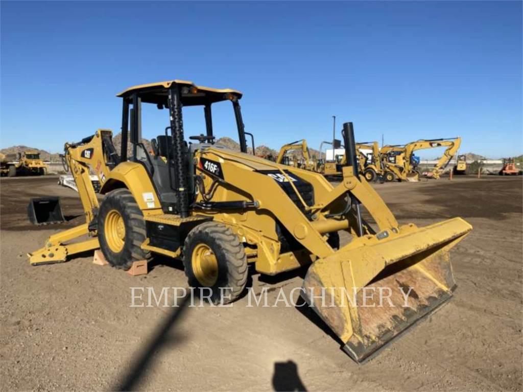 Caterpillar 416F2 4EO, baggerlader, Bau-Und Bergbauausrüstung