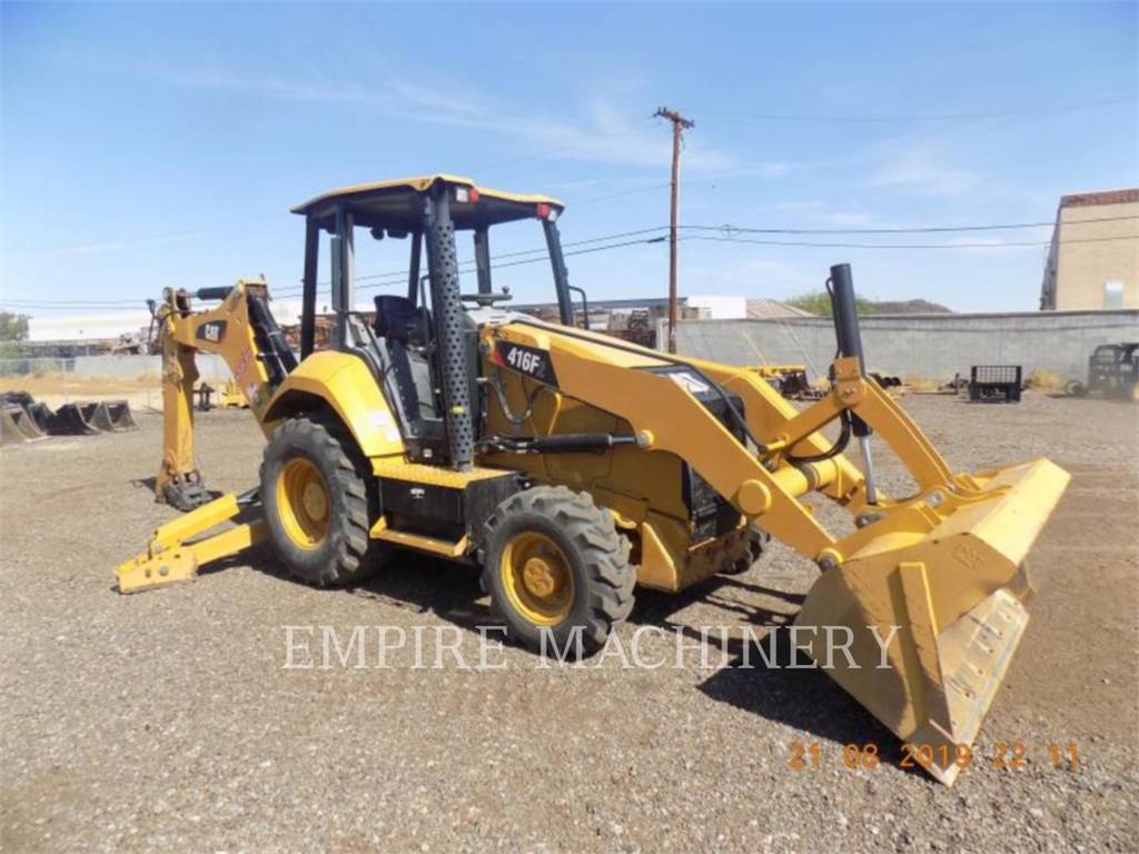 Caterpillar 416F2 4EO, retroescavadeiras, Equipamentos Construção