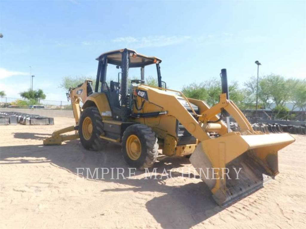 Caterpillar 416F2 4EO, backhoe loader, Construction