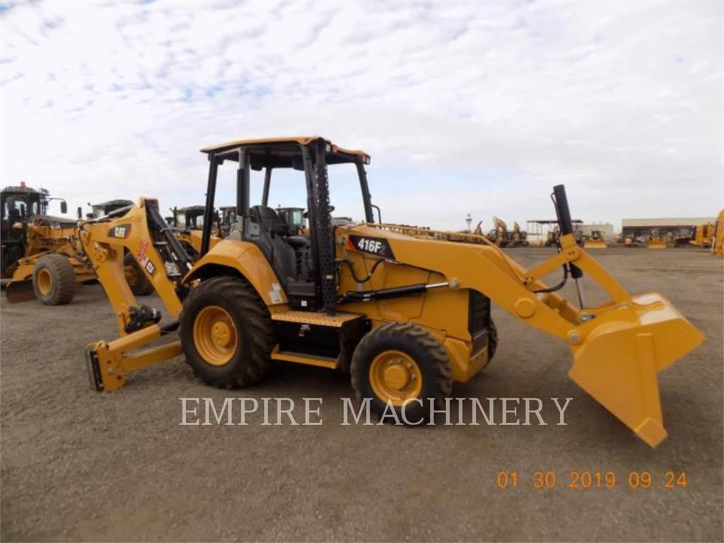 Caterpillar 416F2 4EO, chargeuses-pelleteuses, Équipement De Construction