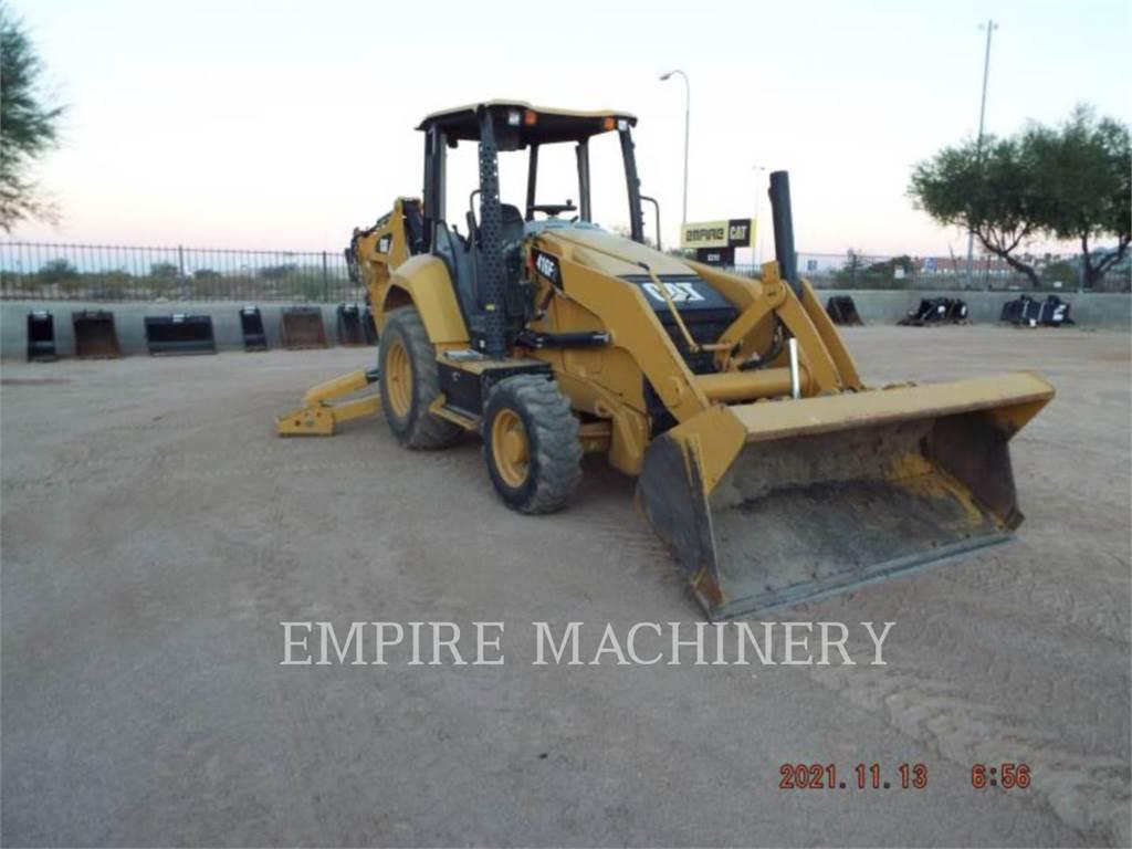 Caterpillar 416F2 4EO、バックホーローダ、建設