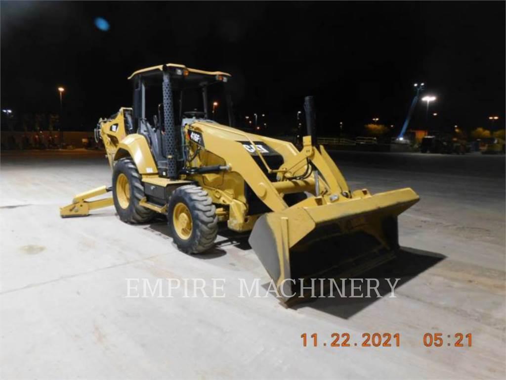 Caterpillar 416F2 4EO, retroexcavadoras cargadoras, Construcción