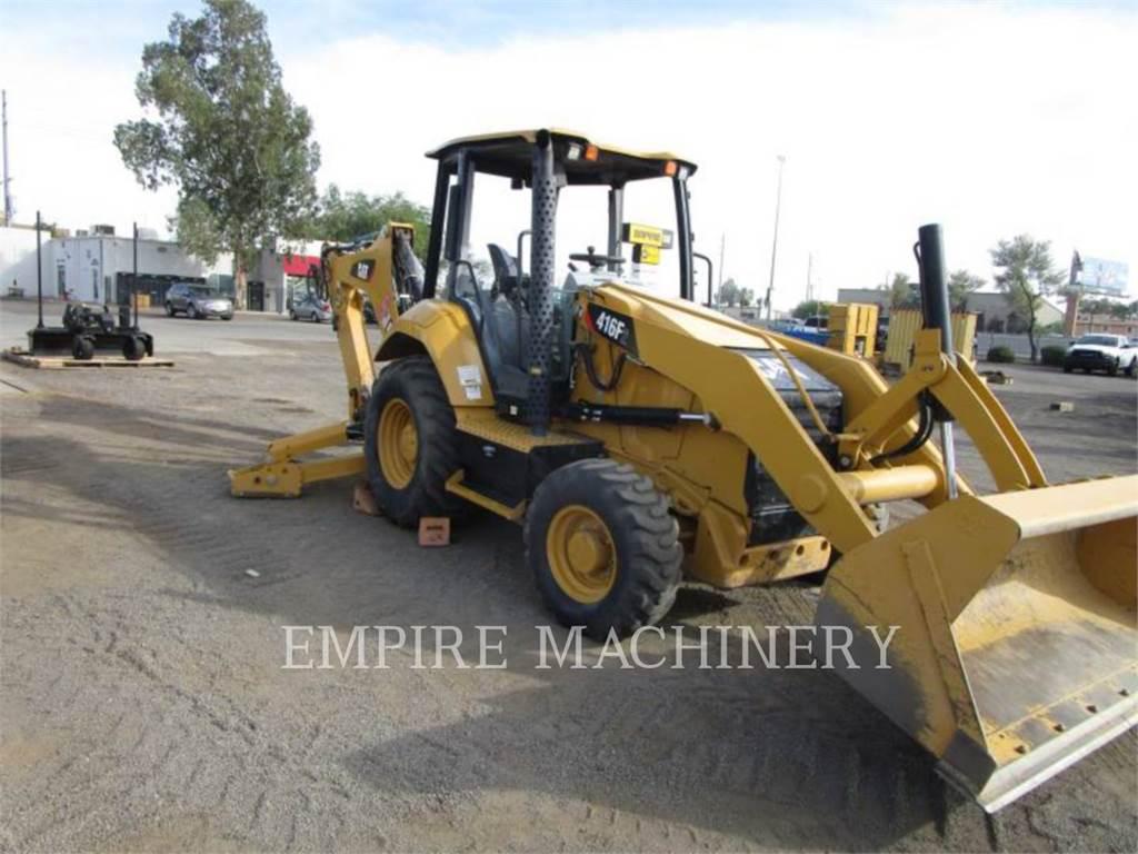 Caterpillar 416F2 4EOP, backhoe loader, Construction