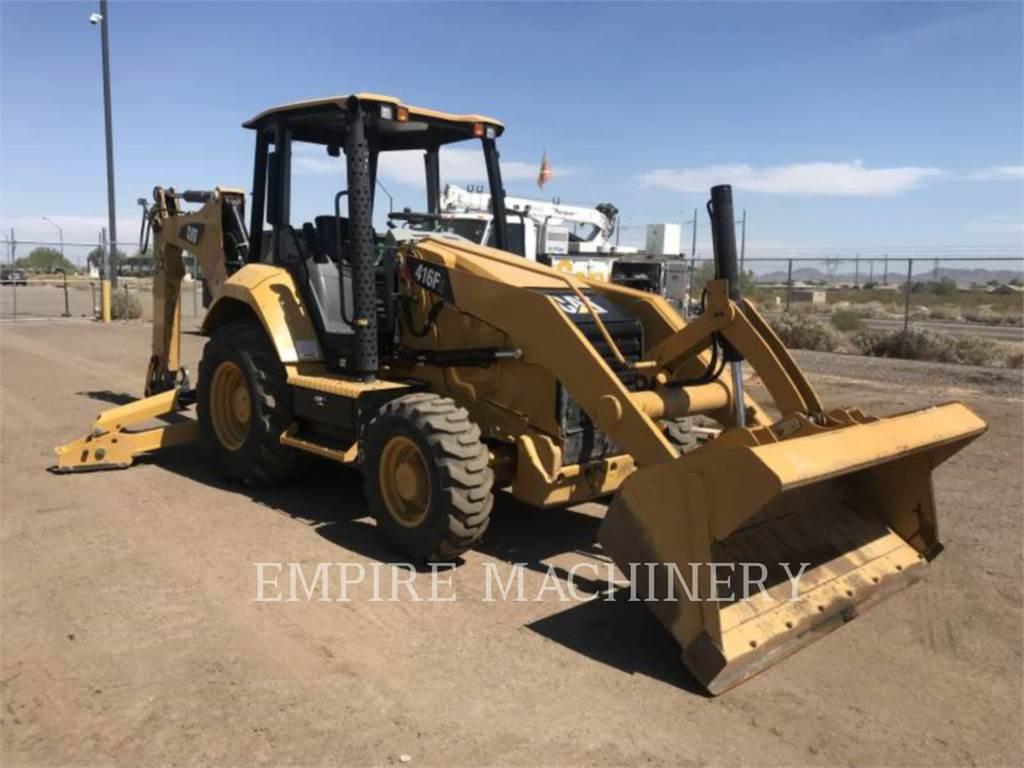 Caterpillar 416F2 HRC, buldoexcavatoare, Constructii