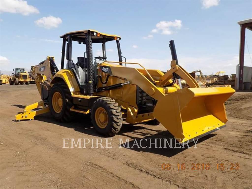 Caterpillar 416F2 HRC、反铲装载机、建筑设备