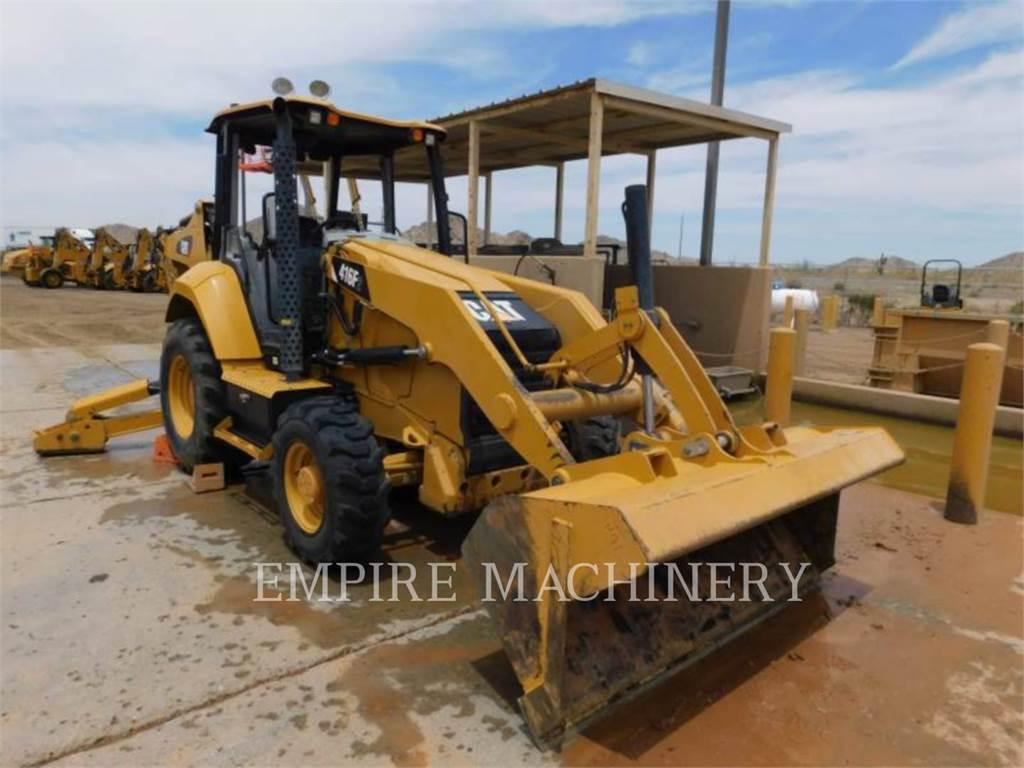Caterpillar 416F2 HRC, backhoe loader, Construction