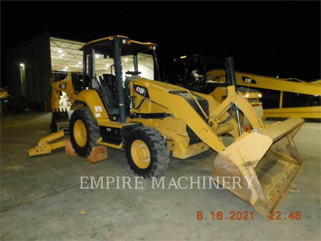 Caterpillar 416F2 HRC, backhoe loader, Construction