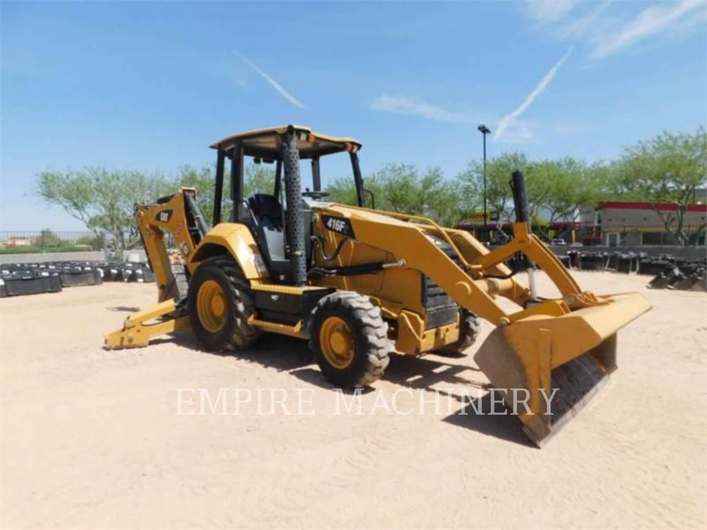 Caterpillar 416F2 HRC, koparko-ładowarki, Sprzęt budowlany